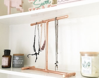 Copper Jewellery Stand