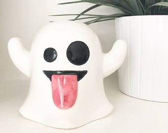 Ghost Emoji money box