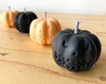 Halloween Pumpkin Mini Candles