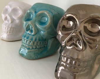Tiki Skull Wax Burner