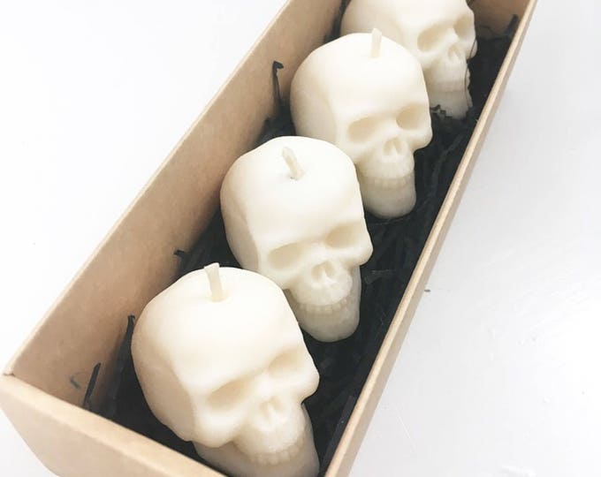 Featured listing image: Skull Tealight Gift Box