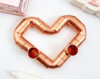 L'Amour Copper candle holder