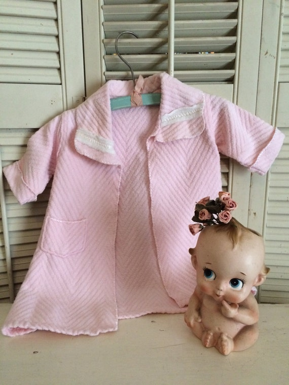 SALE*** Darling Little Pink Ribbed Cotton  Baby Ro