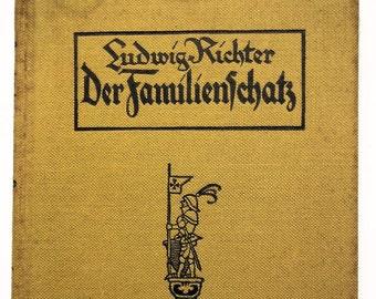 Der Familienschatz 65 holzschritte nach Zeichnungen German 65 Drawings ca. 1890