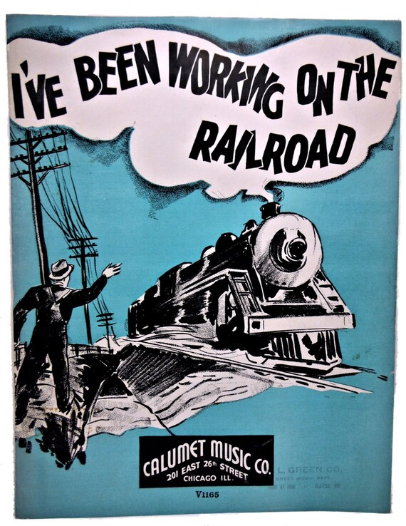 1936 I\'ve Been Working on the Railroad Hawaiian Guitar | Etsy