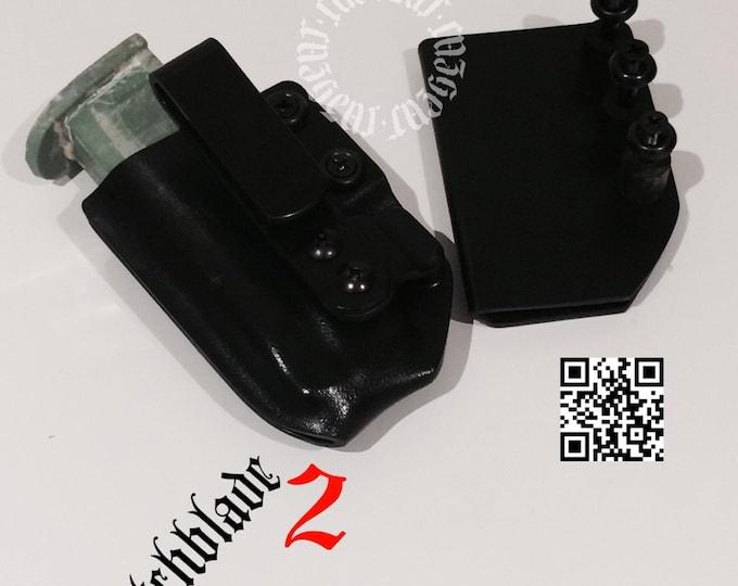 Arondight Switchblade 2 Horizontal  & Vertical IWB Mag Carrier (Reversible)