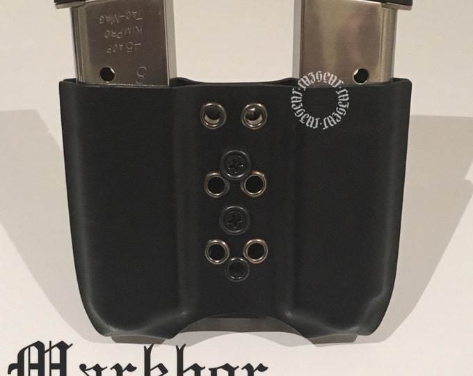 Markhor Double Arondight Switchblade for 1911 in tactical black (left side carry)
