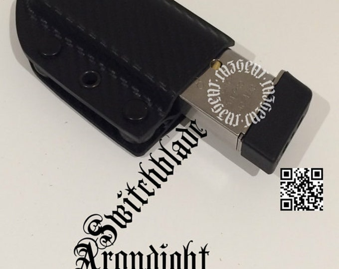 Arondight Switchblade 1911 / .40 / 9mm Single or Double Stack Horizontal Mag Carrier