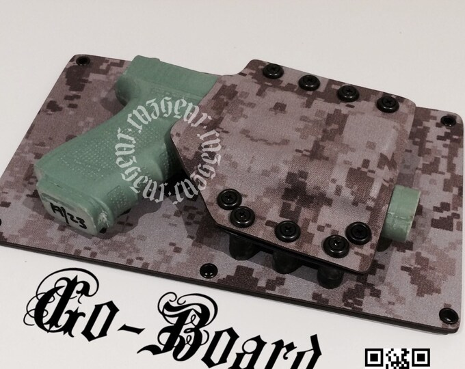 Go Board USMC Digital 11 x 6 3/4 for glock 19/23 with TLR1