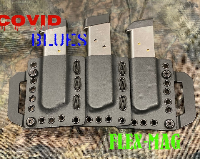 1911 Triple Covid Blues Flex-Mag (Reversible)
