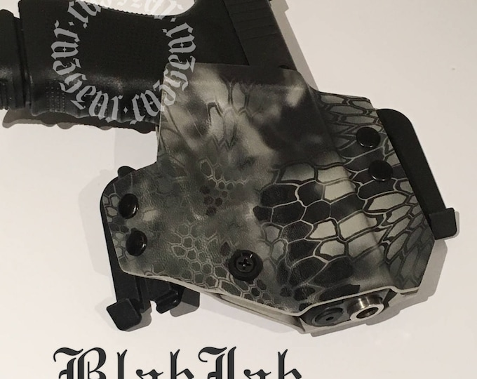 BlakJak Slim holster in Kryptek Raid (NEWMODEL!) . Click on variations when ordering.