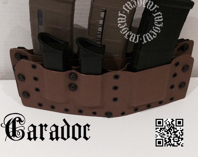 Caradoc Quad AR + 2 Pistol Rack