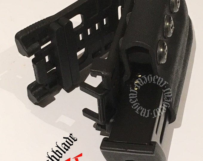 Arondight Switchblade II, Heavy Duty Doublestack IDPA Vertical Mag Carrier