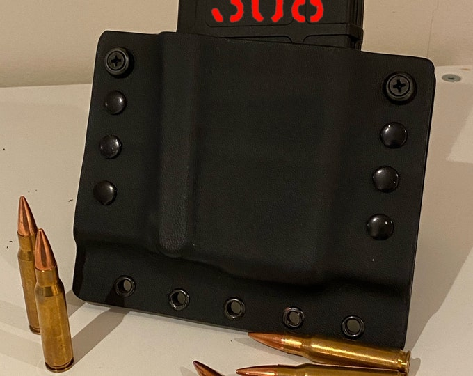 MagTac 308 Single Mag Pouch for .308 (7.62x59) with Molle Attachment System (5.56 or .223 available)