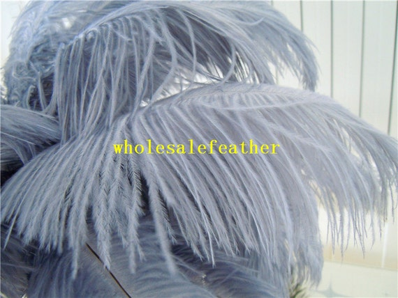 """3 BLACK Ostrich FEATHERS 10-18/"""" Full Wing PLUMES; Bridal//Wedding//Centerpiece//Hat"""