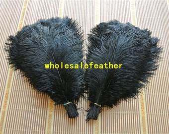 100 pcs black ostrich feather plumes for wedding centerpieces wedding decor party event supply