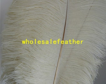 100 pcs Ivory ostrich feather plumes for wedding centerpieces wedding decor party supply