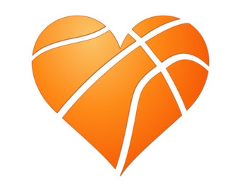 basketball heart svg etsy rh etsy com Heart Basketball On Fire Graphic Basketball Heart Designs