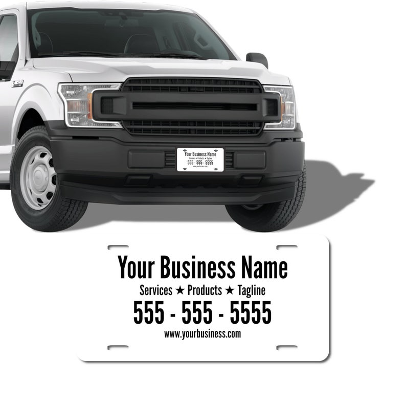 Personalized Front License Plates Custom Front Car Plates Promotional License Plates Monogrammed Front License Plates