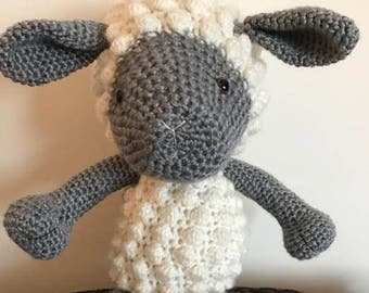 Crochet Sheep   Children s Lamb Toy   Handmade Stuffed Animal c7efde83e13b5
