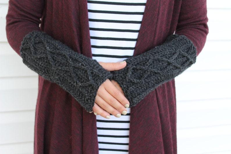 Crochet Hand Warmers Hand Warmers Fingerless Gloves image 0