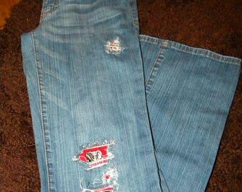 Mossimo Suply size 7 Alabama IP jeans