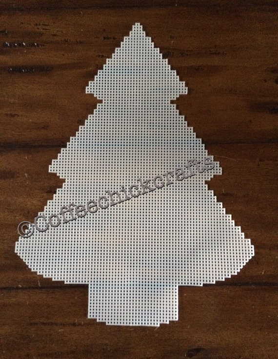 Christmas Tree Cut Out.Large Christmas Tree Plastic Canvas Cut Out Plastic Canvas Christmas Tree 15