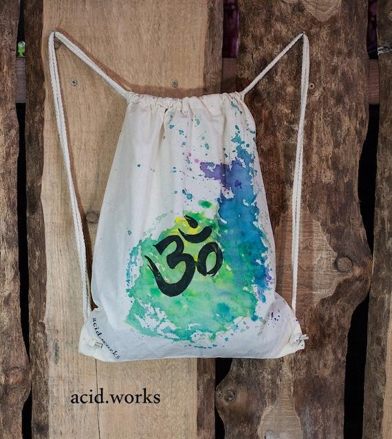 cotton bag Om customizable acid Works