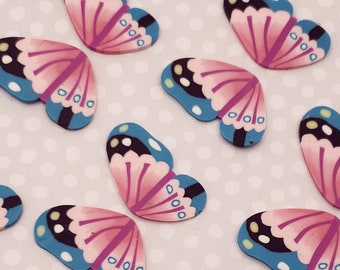 BFF Charms Jewelry Supplies Butterfly Wings Scrapbooking Angel Wings Fairy Wings Decorations Polymer Clay Slime Charm Craft Supplies