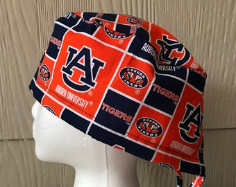 72a667bbe17 ... real auburn university scrub cap two options scrub hat surgery cap  scrub caps surgery hat or