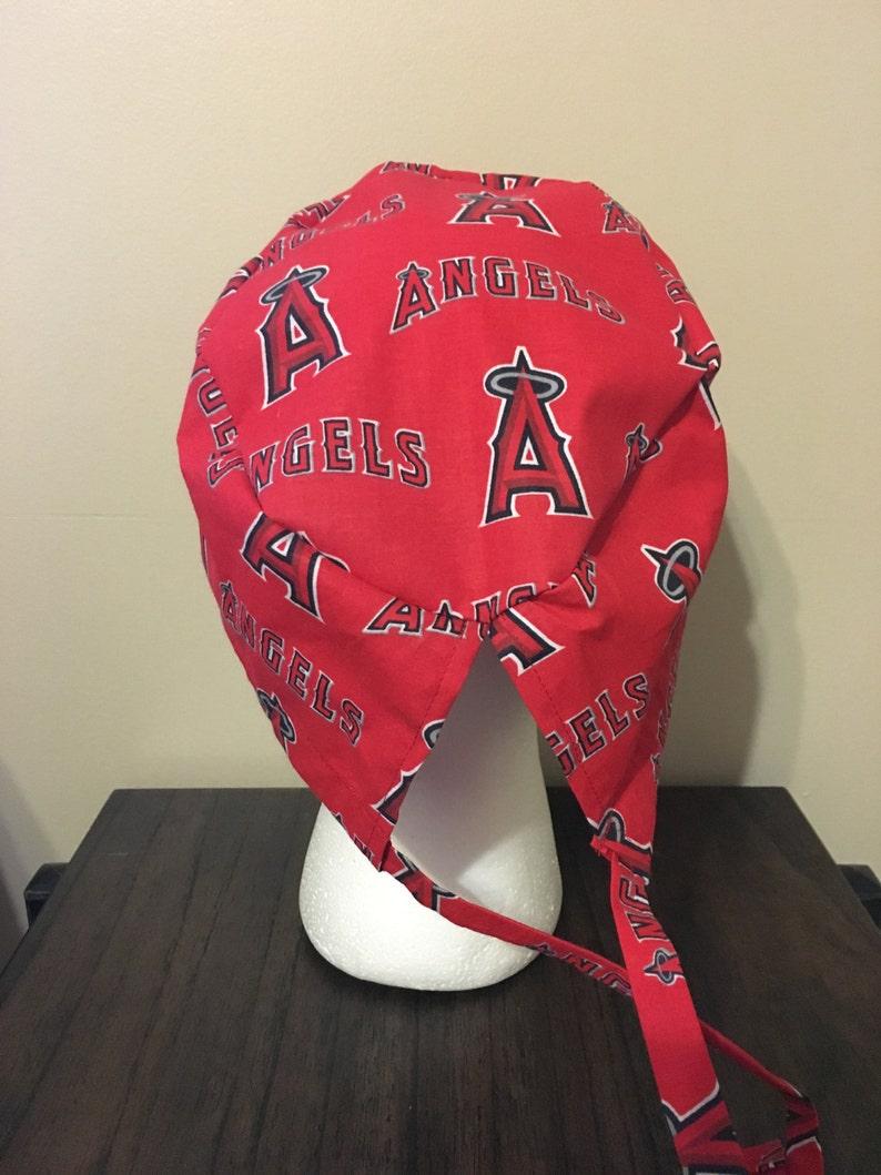 4722472eedf Los Angeles Angels Scrub Cap Surgery Cap Scrub Caps MLB | Etsy