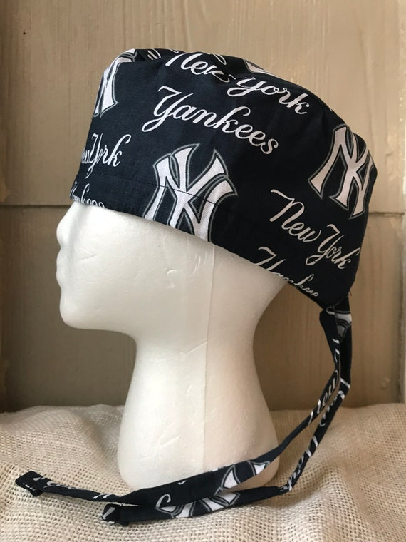 New York Yankees Scrub Cap Surgery Cap Scrub Caps Scrub  b19dd29580f