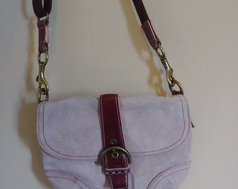 Pink Leather COACH Purse Cross Body