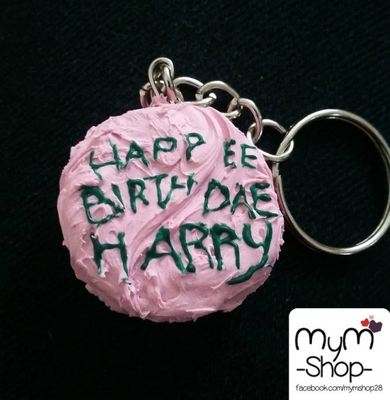 Harry Potter Film Geburtstag Kuchen Happee Birthdae Harry Etsy