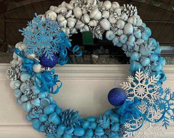 Winter Christmas Wreath