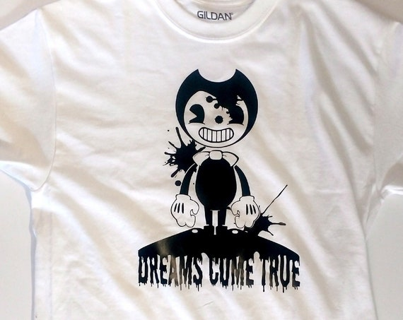 """Bendy and the Ink Machine """"Dreams Come True"""" graphic shirt"""