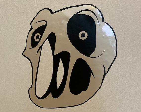 Delirium Binding of Isaac boss iridescent vinyl decal and sticker