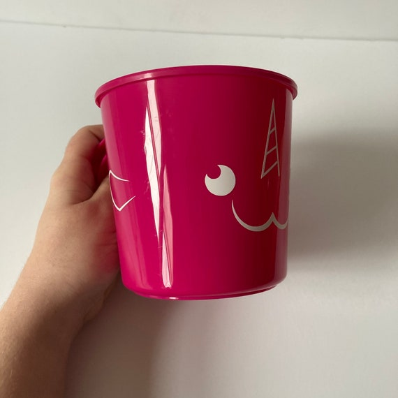 Kid's Narwhal Pink Snack/Travel Cup