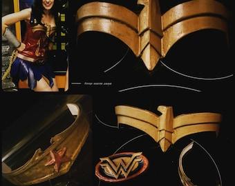 Wonder Woman Costume Kit (finished or unfinished)
