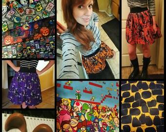 Custom Skirt Bears Cats and Cowboys