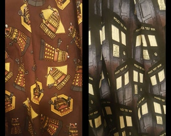 Who is Calling and How Now Brown... Dalek Custom Skirt