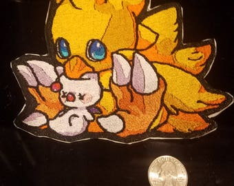 Chocobo Moogle Patches