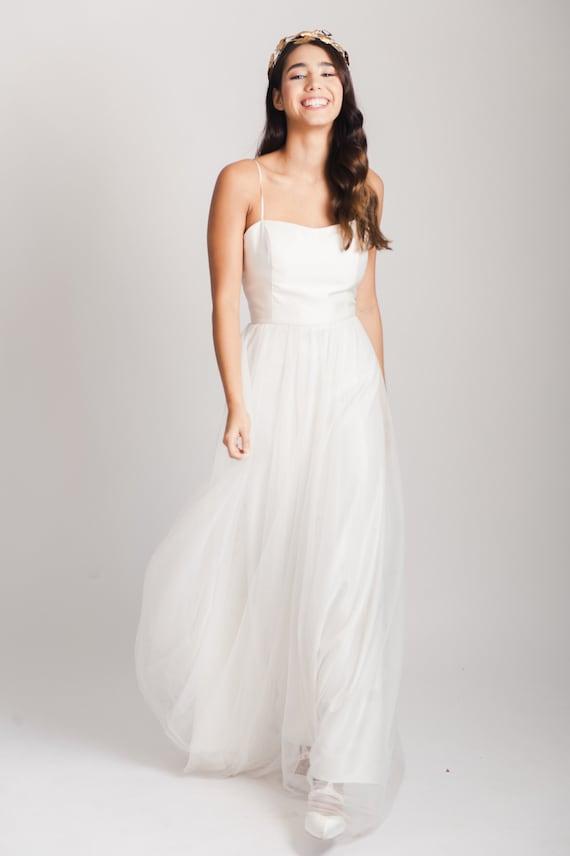 Starling Dress Wedding Dress Ivory Wedding Dress Budget Etsy