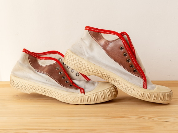 Vintage sneakers Canvas sneakers Canvas shoes Lace