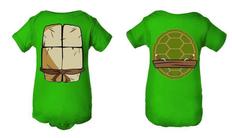 62e036973 TMNT Teenage Mutant Ninja Turtles Inspired Character Onesie | Etsy