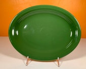 Fiesta Forest Green (Older) 12.5 quot Platter