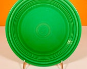 Fiesta Medium Green (Older) Luncheon Plate
