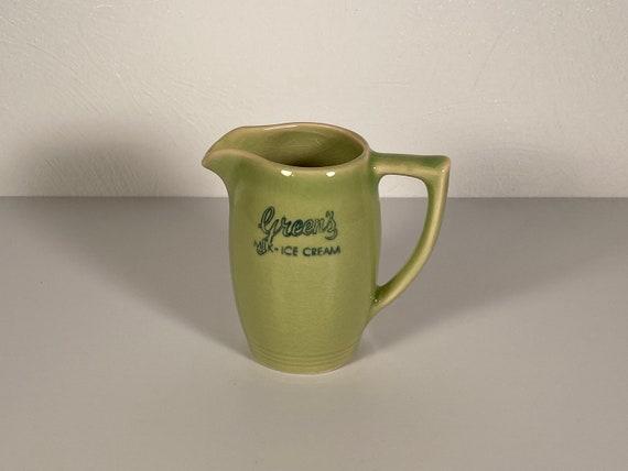 Green's Dairies Ceramic Creamer