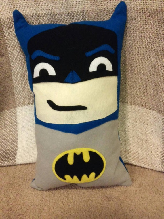 Batman À Capuche Cou Oreiller