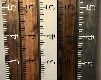 Growth Chart Ruler Etsy
